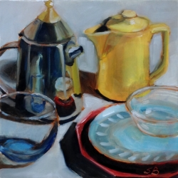 Sonja  Brown  - Yellow Pitcher 5