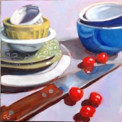 Sonja  Brown  - Green Plates 1
