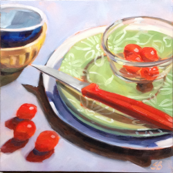 Sonja  Brown  - Green Plates 6