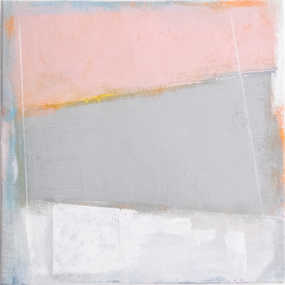 Pink and Grey Granite  by Anne-Marie Olczak
