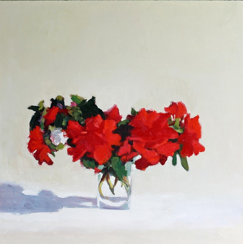 The Geraniums  by Hilda Oomen