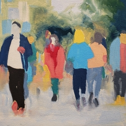 Sherry  Czekus  - Walking Through Stanley Park