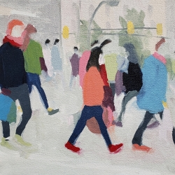 Sherry  Czekus  - Pedestrians Crossing 12th