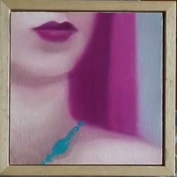Greg Nordoff - Magenta and Turquoise 1