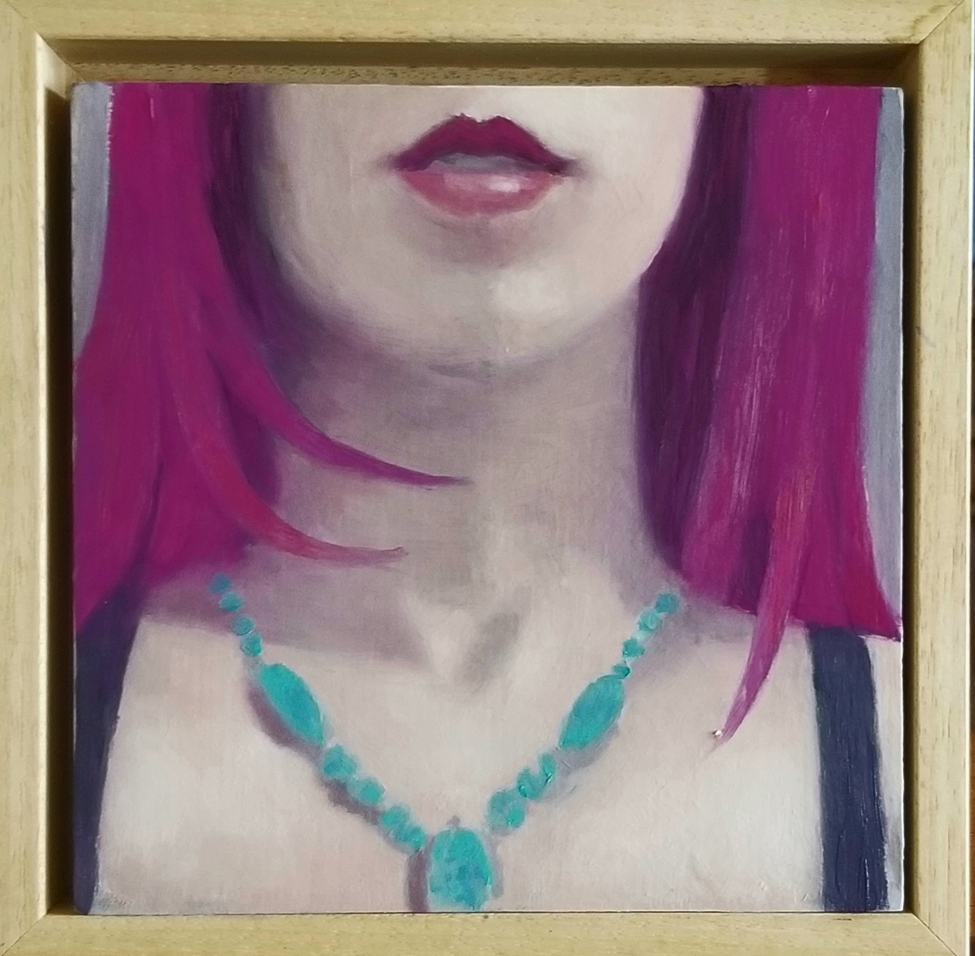 Magenta and Turquoise 2 by Greg Nordoff