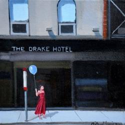 Michael Harris - Red Dress, Blue Balloon