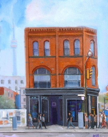 Muggy Afternoon, Queen Street West  by Michael Harris