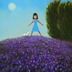 Michael Harris - Purple Flowers By The Sun