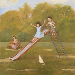 Michael Harris - Enjoying the Slide