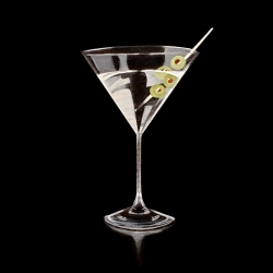 Erin Rothstein - Tasting Room: Martini (black)