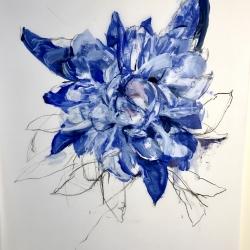 Madeleine Lamont - Deep Blue Peony 3