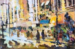 City Arcade  by Masood Omer