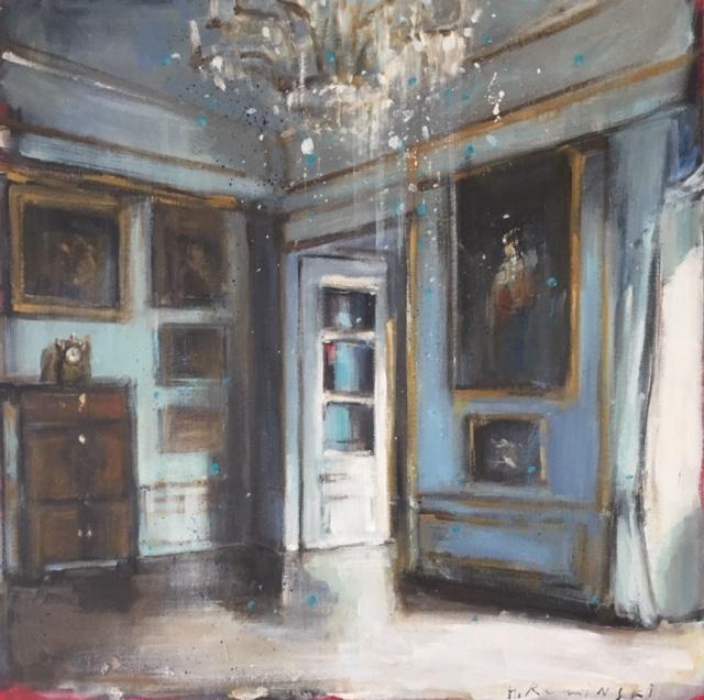 Lazienki Palace II by Hanna Ruminski