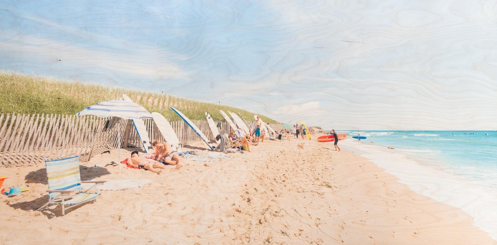 Surf Break  by Patrick Lajoie