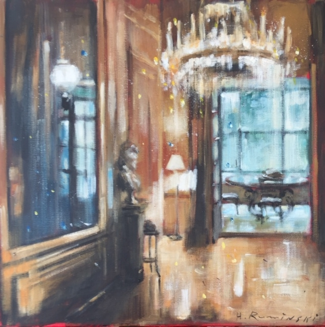 French Chateau 5/ 03.20  by Hanna Ruminski