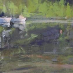 Maria  Josenhans - Morning Touches the Cove