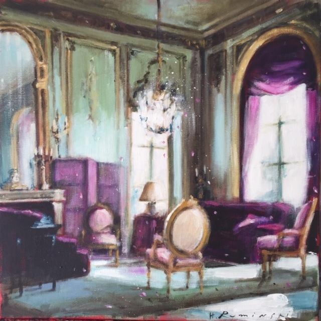 French Chateau 6/ 03.20 by Hanna Ruminski