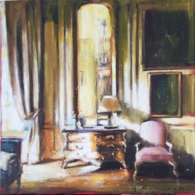 French Chateau 8/ 04.20  by Hanna Ruminski