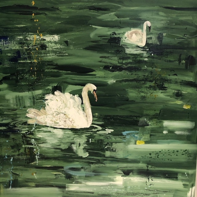 Summer in the Pond  by Rundi Phelan