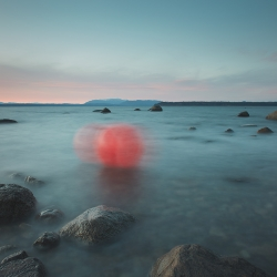 David Ellingsen - Unknown Entities - Unraveling Red in Veiled Blue, Fishing Buoy