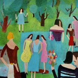 Lucy  Schappy  - Garden Party 3