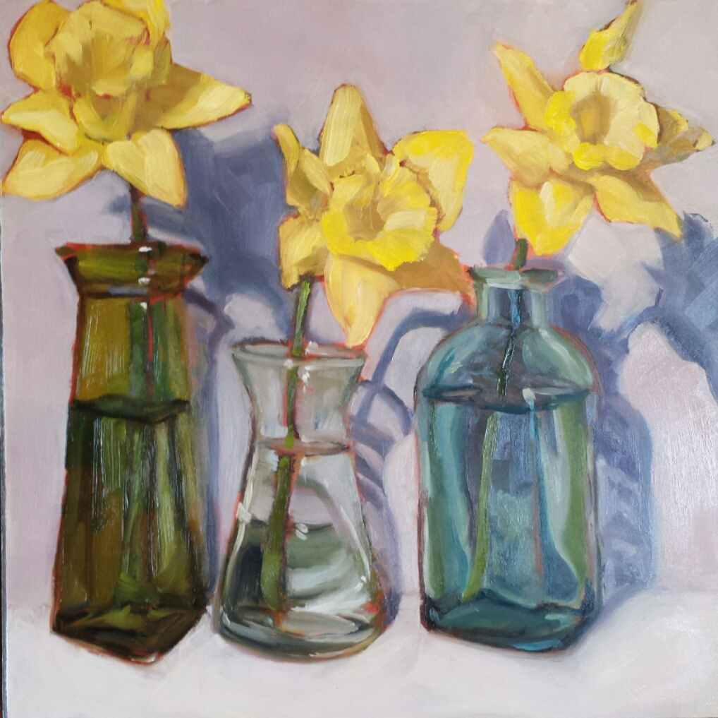 Daffodils 4  by Sonja  Brown