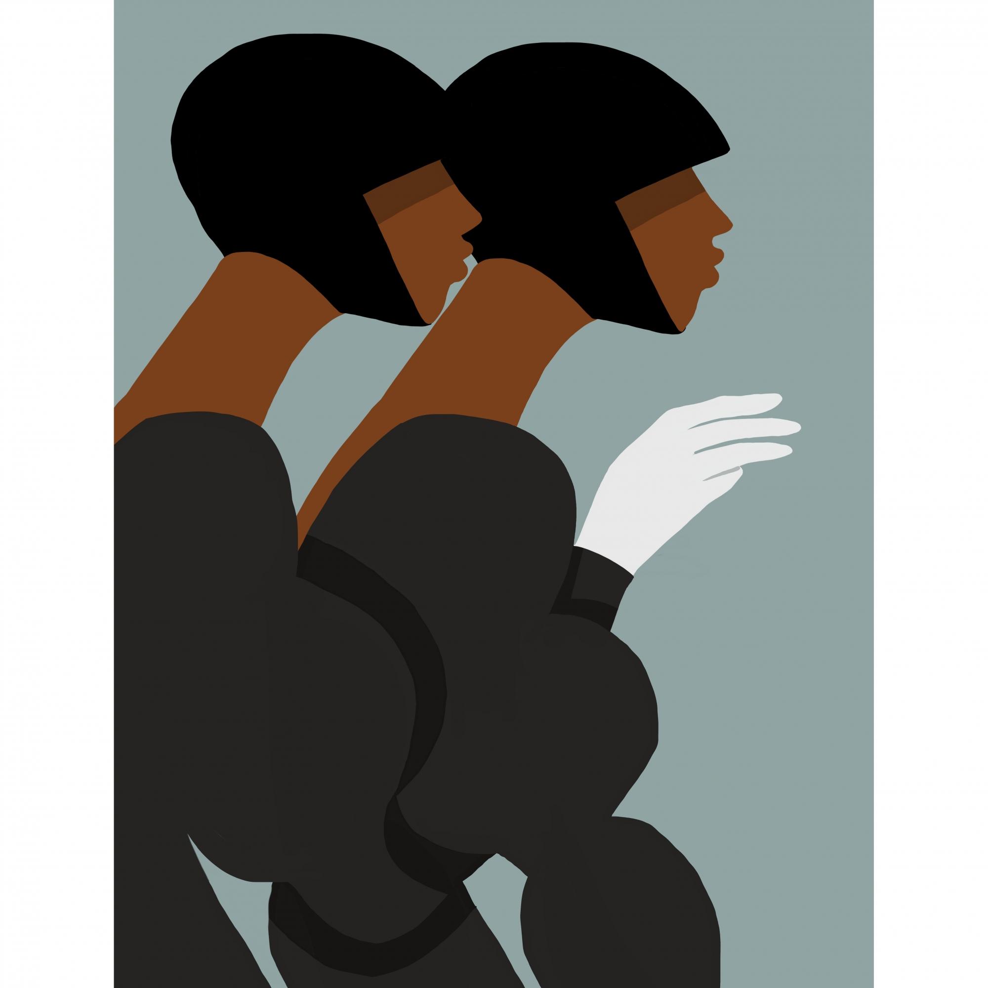 Les Deux by Nick Bahizi