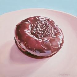 Emily Bickell - Chocolate Swirl Donut