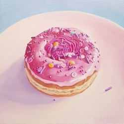 Emily Bickell - Strawberry Swirl Donut