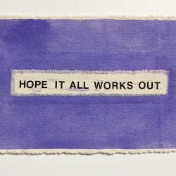 Moira Ness - Hope it all Works Out (Purple)