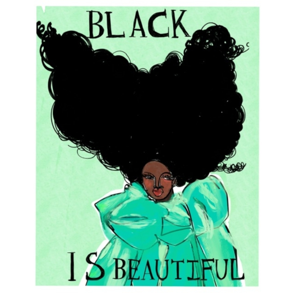 Black is Beautiful by Annie  Naranian