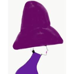 Annie  Naranian  - Chapeau Violet