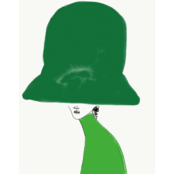 Annie  Naranian  - Chapeau All Green