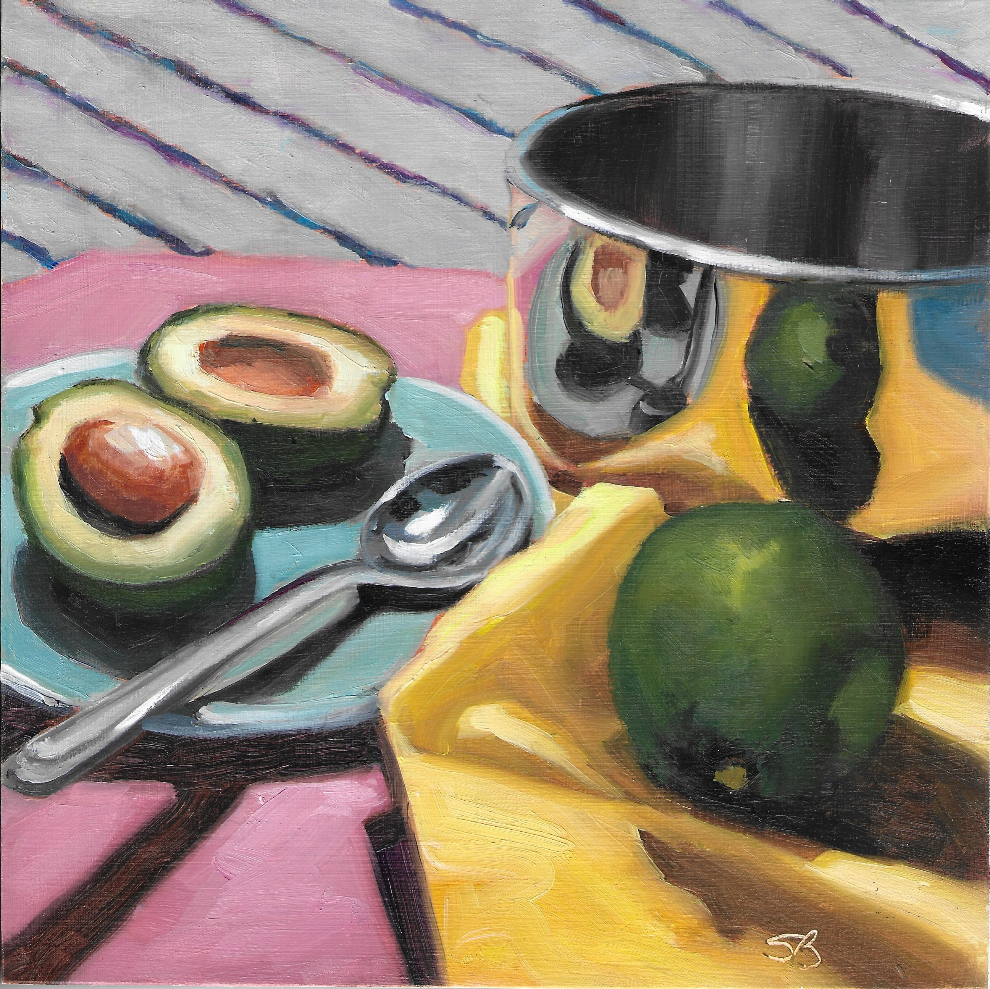 Avocados 4 by Sonja  Brown