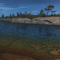 Mark Berens - Lightening Pine Panoramic