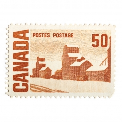 Peter Andrew - Canada Stamp 50 Cents