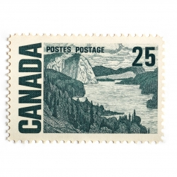 Peter Andrew - Canada Stamp 25  Cents