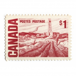 Peter Andrew - Canada Stamp 1 Dollar
