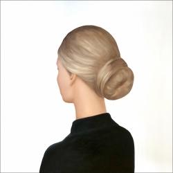 Marina  Nazarova - Lady in a Black Blouse