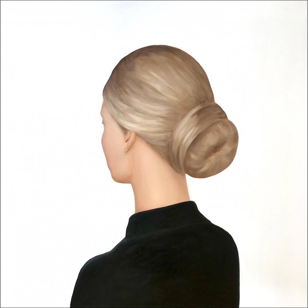 Lady in a Black Blouse by Marina  Nazarova