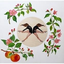 Marina  Nazarova - Dancers and Apple Blossoms
