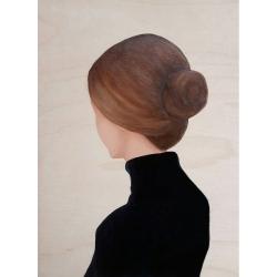 Marina  Nazarova - Lady in Black Turtleneck