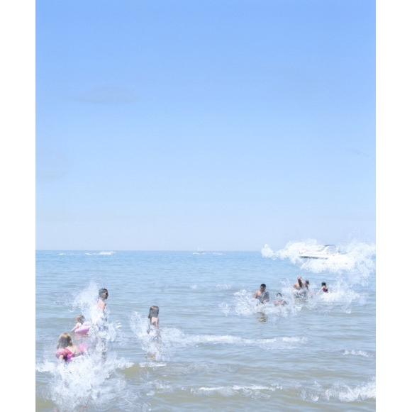 Watching the Tide Surface 1/20  by Amy Friend