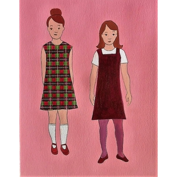 First Day of School V by Lori Doody