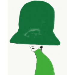Annie  Naranian  - Chapeau All Green