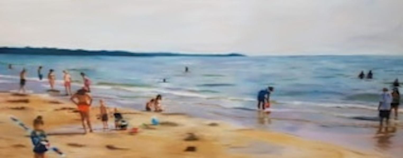 Sandbanks #3 by Shannon  Dickie