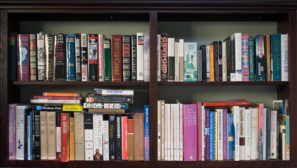 Bookshelves-MC by Tek Yang