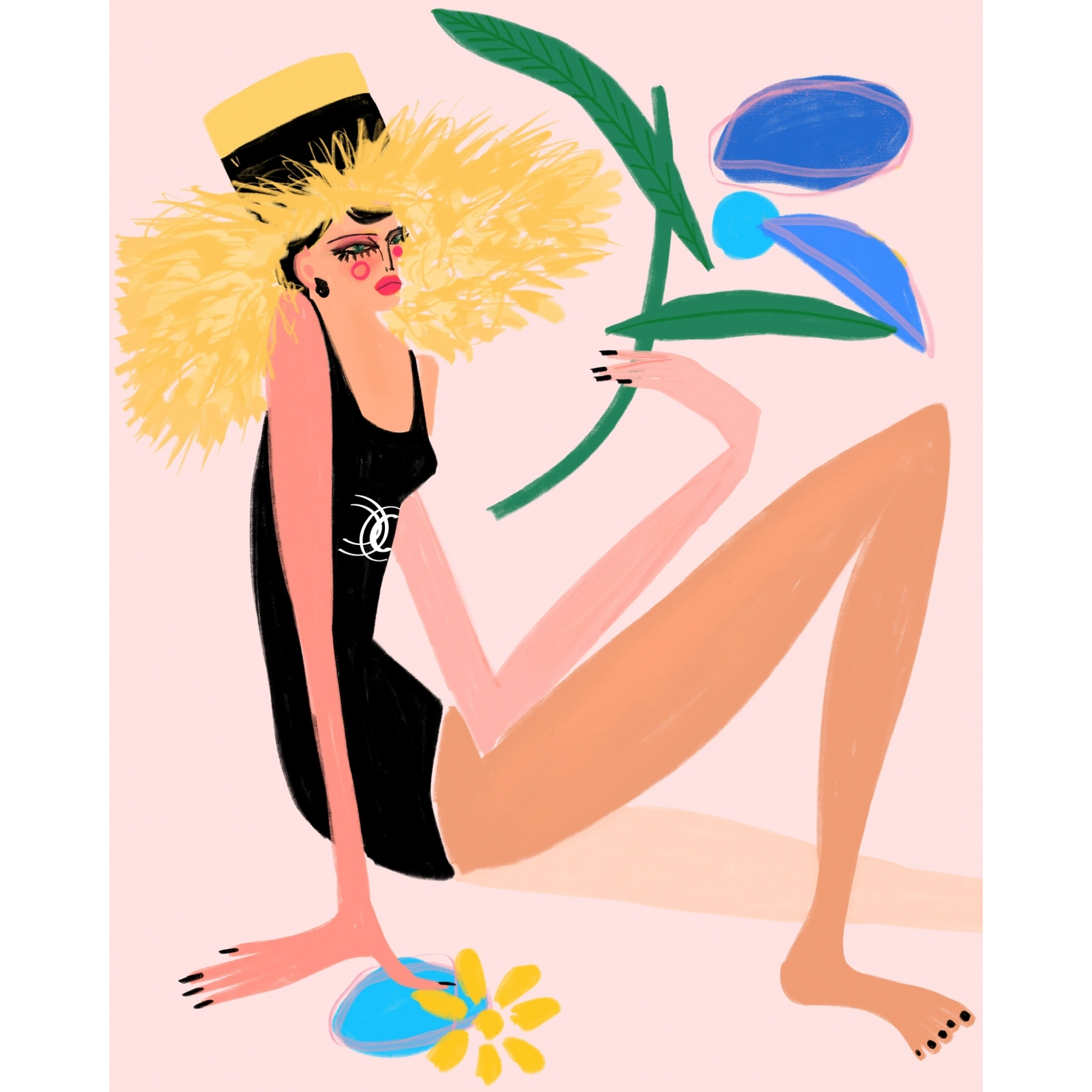 Keeping Cool in Chanel  by Annie  Naranian