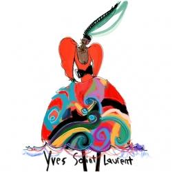 Annie  Naranian  - Yves Saint Laurent Archives