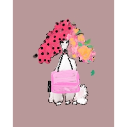Annie  Naranian  - Poodle In Marc Jacobs 2020